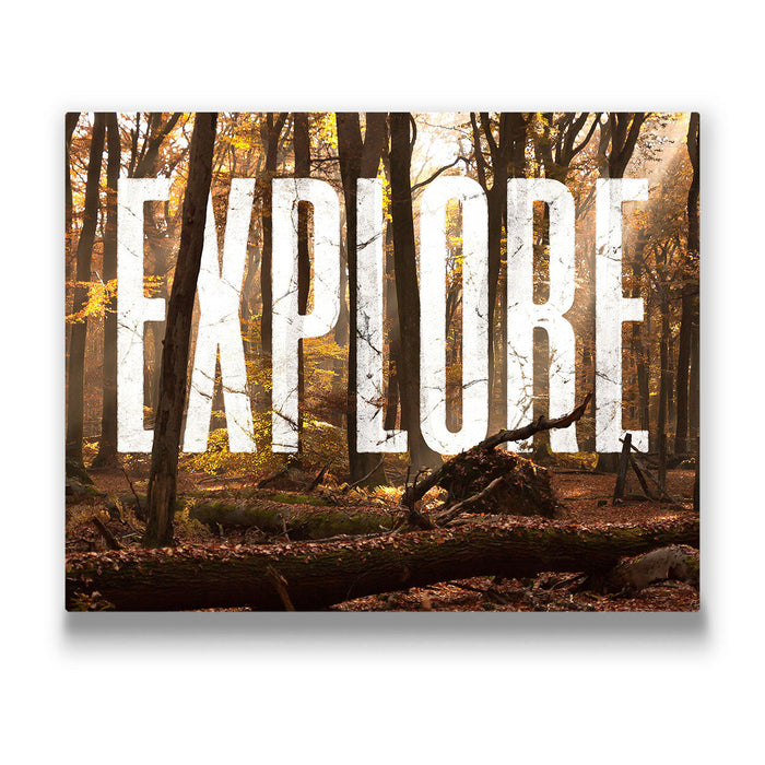 Explore - Canvas Wall Art