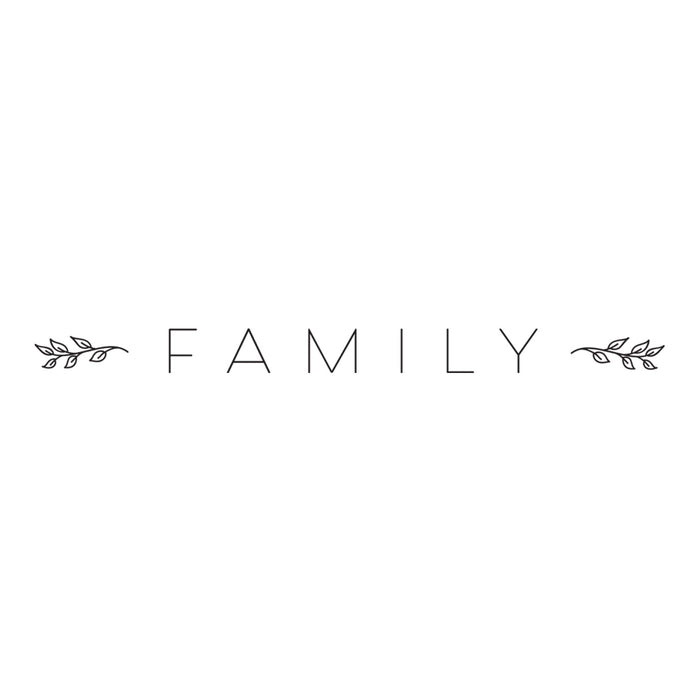 Family - Word Decal Graphic