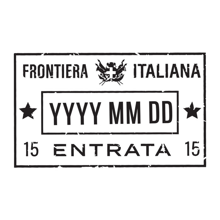 Passport Stamp Decal - Italy