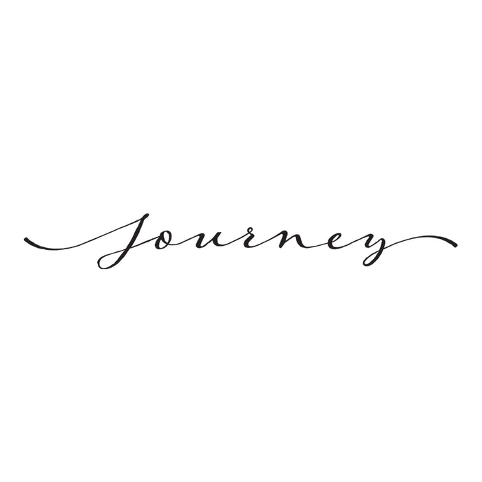 Journey - Word Decal Graphic