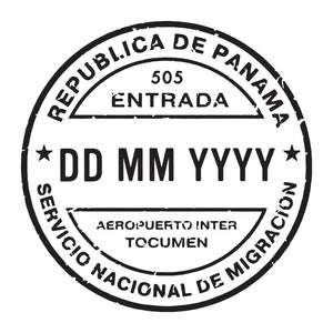 Passport Stamp Decal - Panama