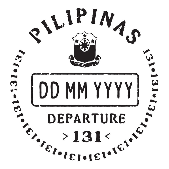 Passport Stamp Decal - Philippines
