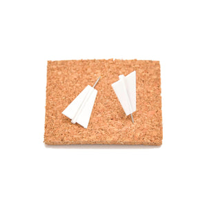 Paper Plane Map Push Pins
