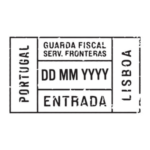 Passport Stamp Decal - Portugal