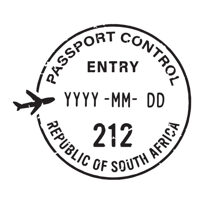 Passport Stamp Decal - South Africa