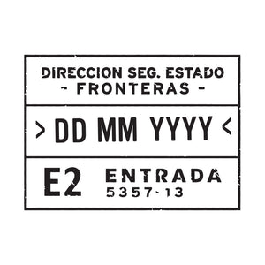Passport Stamp Decal - Spain