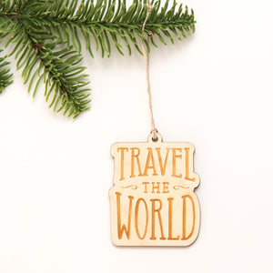 Travel the world Ornament