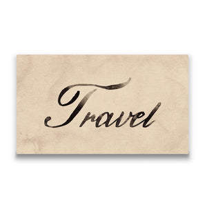 Travel Travel quote Canvas Art Thumbnail