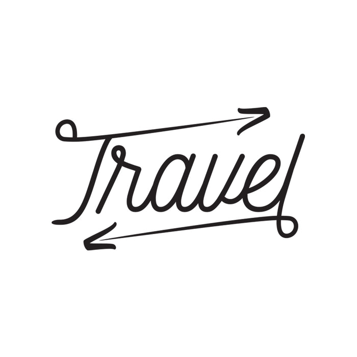 Travel - Word Decal Graphic
