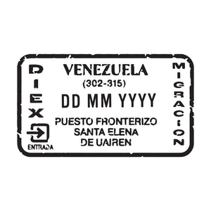 Passport Stamp Decal - Venezuela