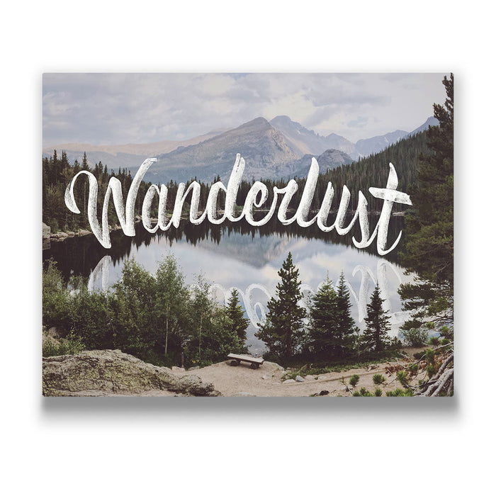 Wanderlust - Canvas Wall Art