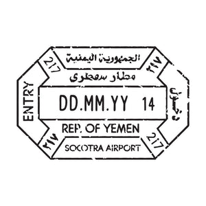 Passport Stamp Decal - Yemen