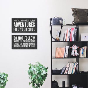 The World is a Book - Canvas Wall Art