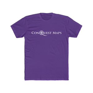 Solid purple rush Conquest Maps Visualize the World of Possibilities Men's Tee
