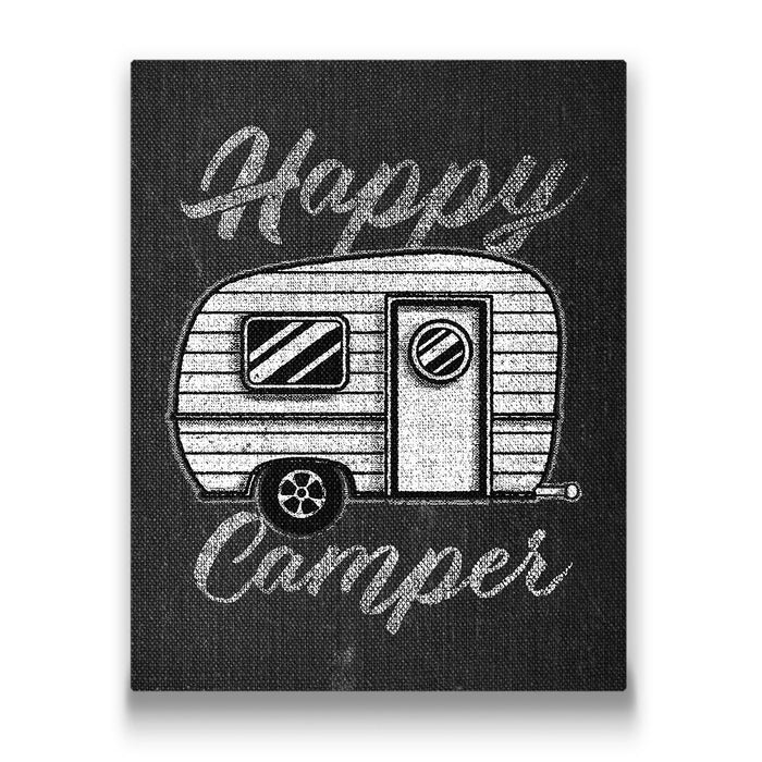 Happy Camper - Canvas Wall Art