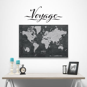 Voyage - Word Decal Graphic