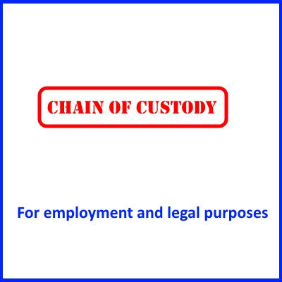Chain of Custody Tests