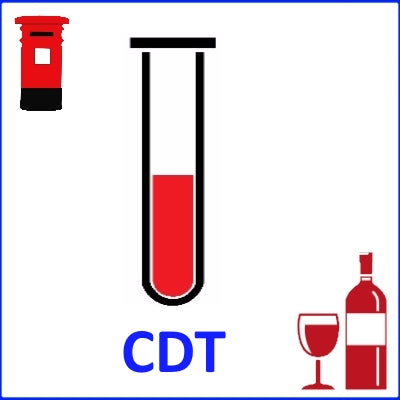 CDT Test (for alcohol Misuse) - Self-Collect and Post