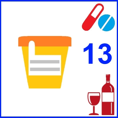 Urine Drug and Alcohol Test - 13 Substances