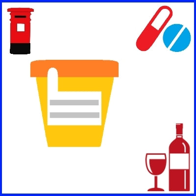 Urine Drug and Alcohol Test - Self-Collect & Post
