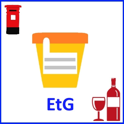 Urine EtG Test (Ethyl Glucuronide) - Self-Collect and Post