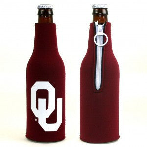 OU Bottle Zipper Koozie (6191512197)