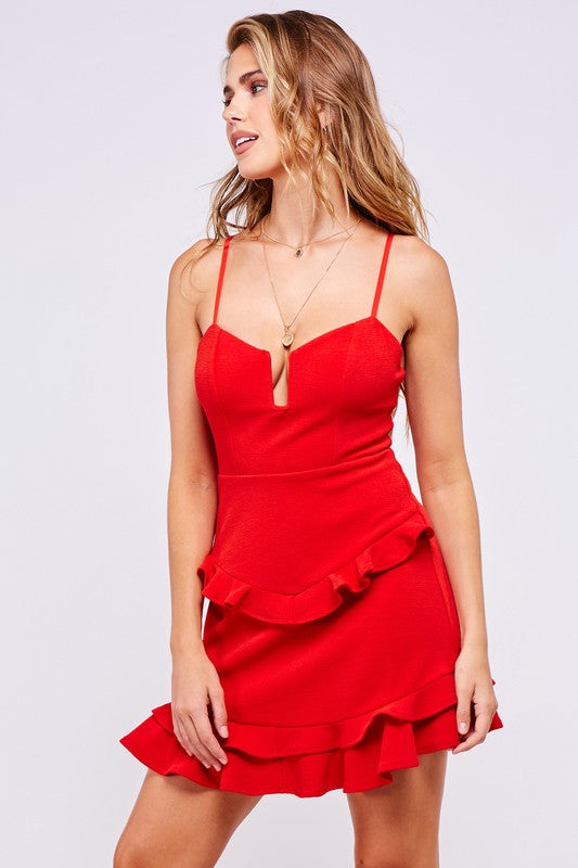 Talk of the Town Red Dress