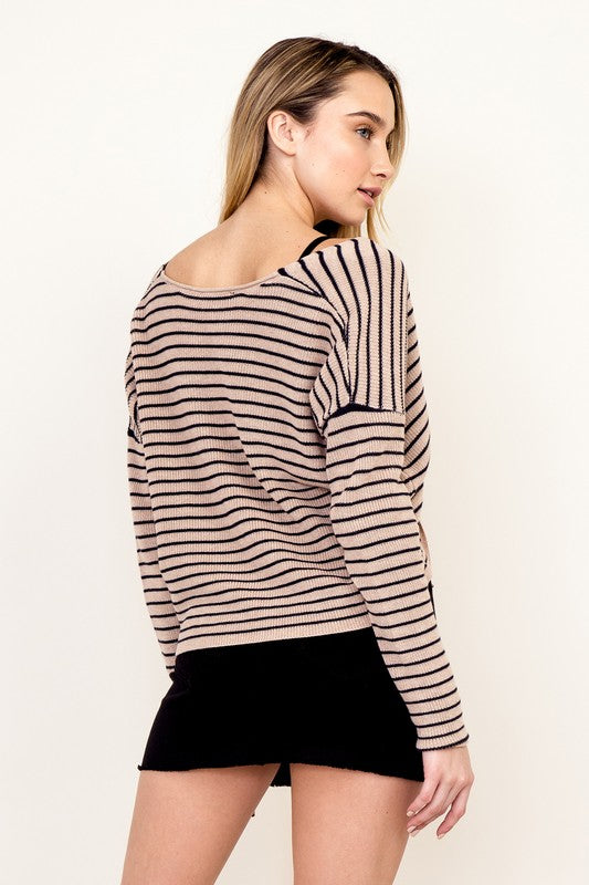 Carolina Striped Sweater