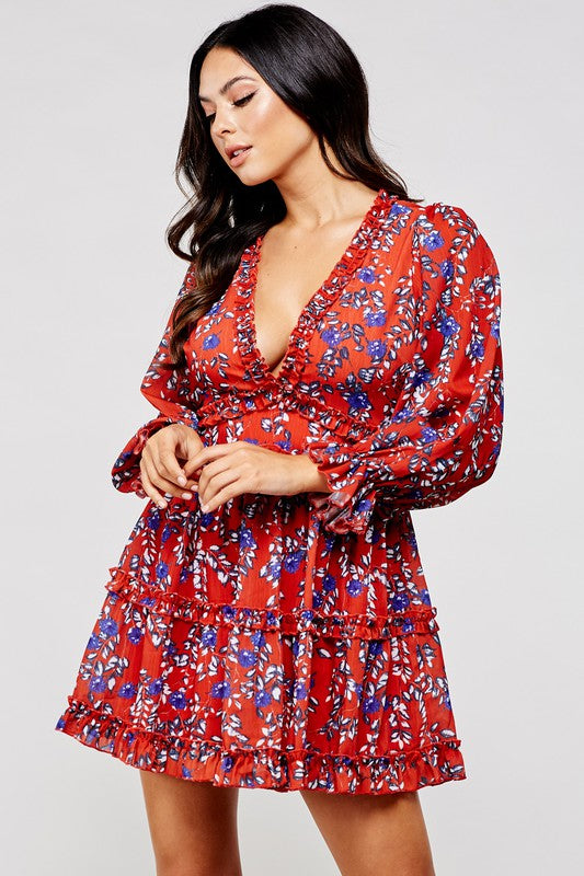 Bend the Rules Floral Dress