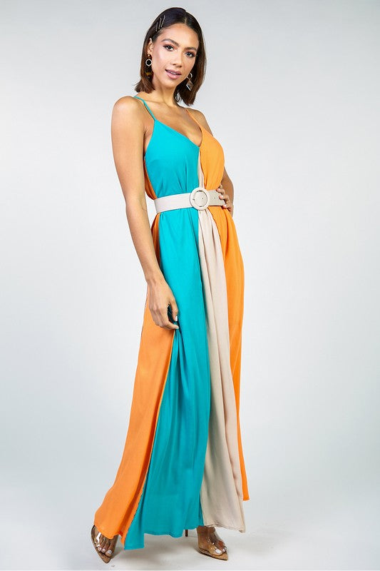 Noorulann Striped Maxi Dress (4635178467467)