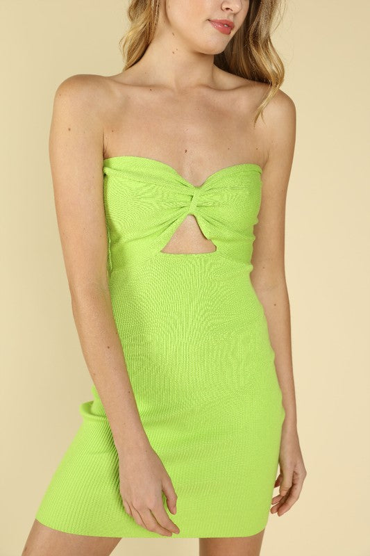 Neon Love Mini Dress