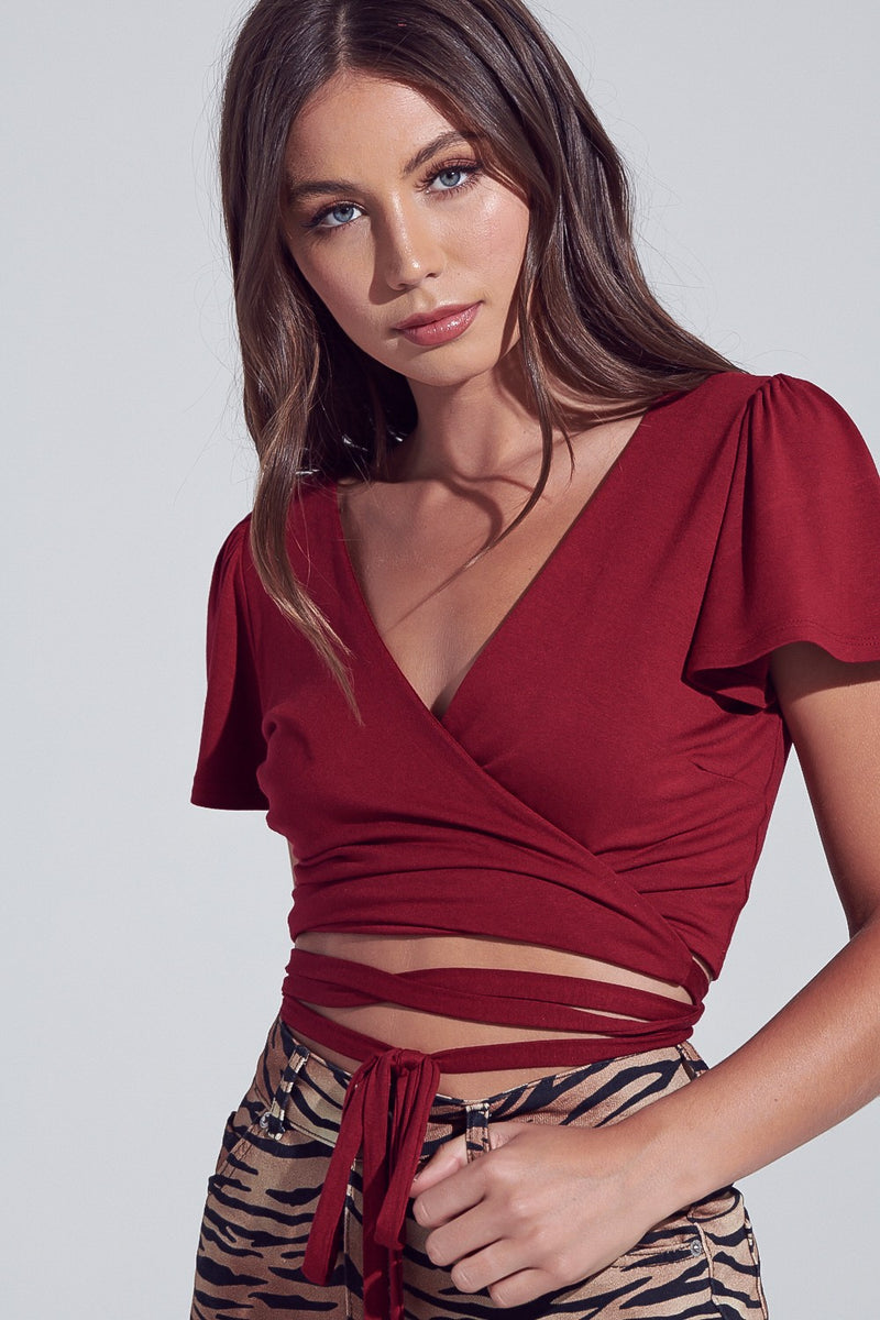 Hailey Wrap Crop