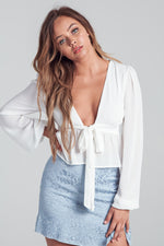 Adelaide Bubble Sleeve Top (4647694270603)
