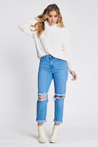 West Coast High Waisted Mom Jeans (4374480060555)