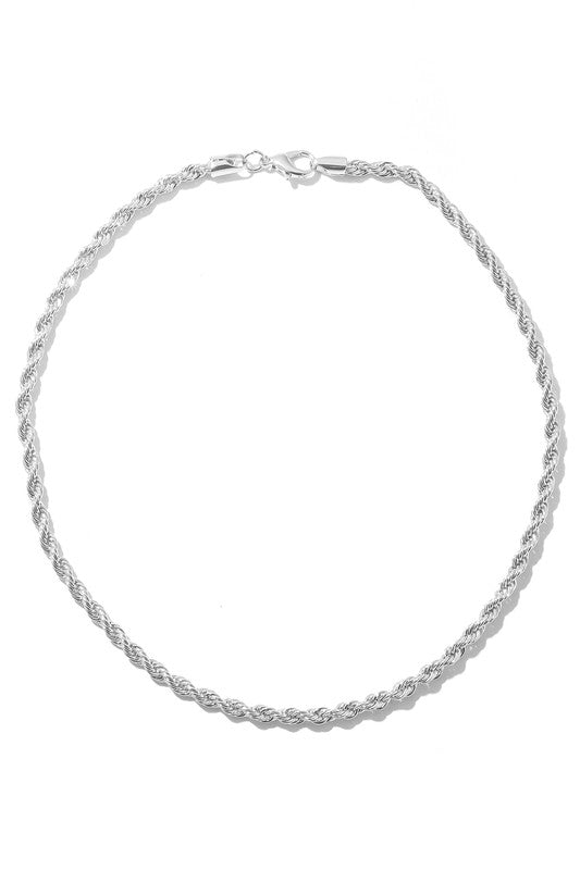 Taylor Twisted Chainlink Necklace