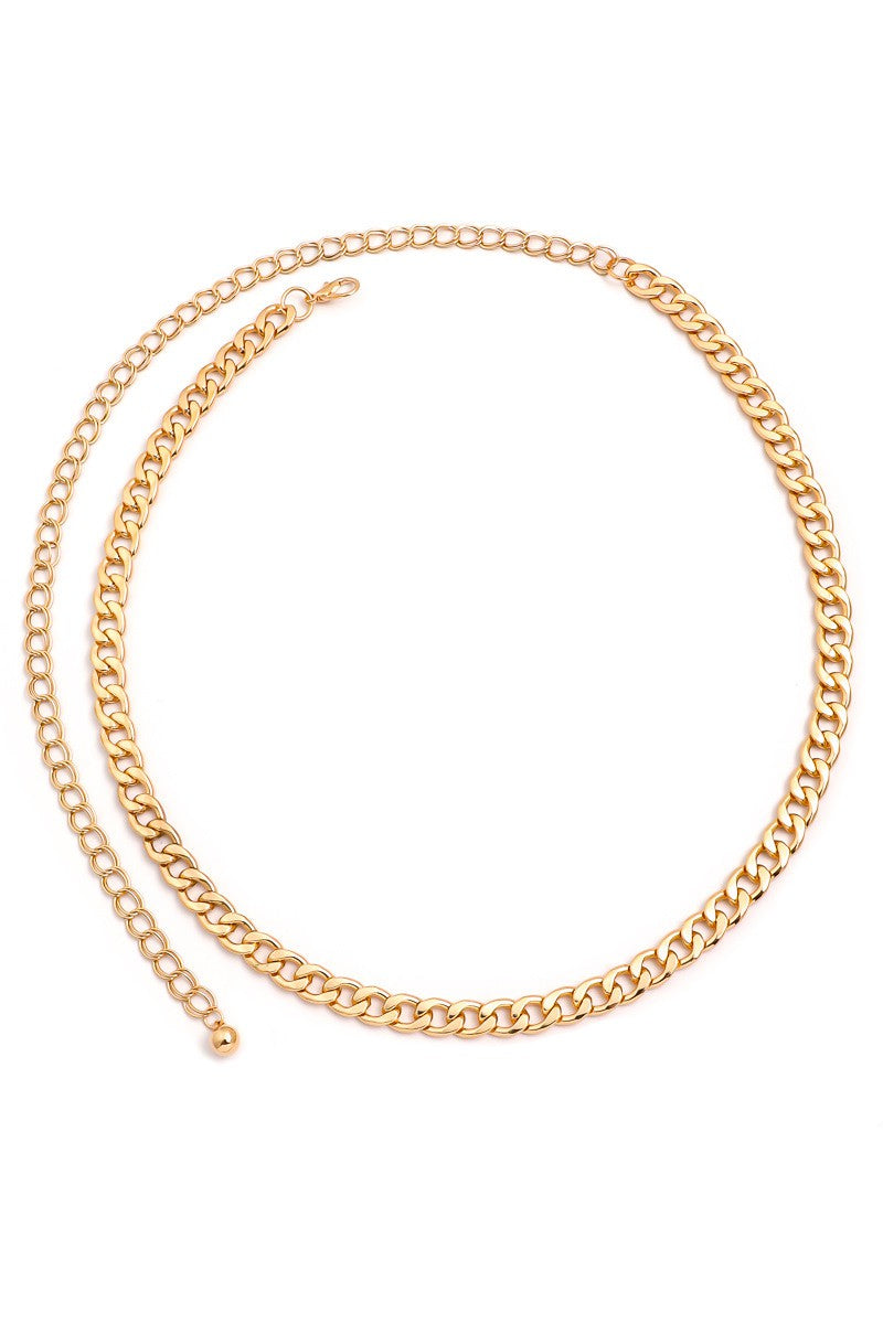 Talia Simple Chain Belt