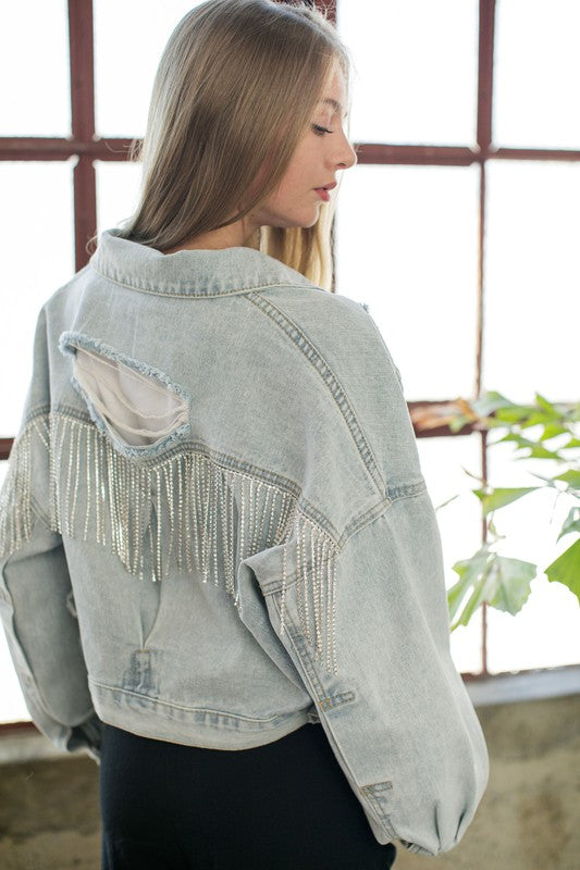 Space Cowboy Denim Jacket