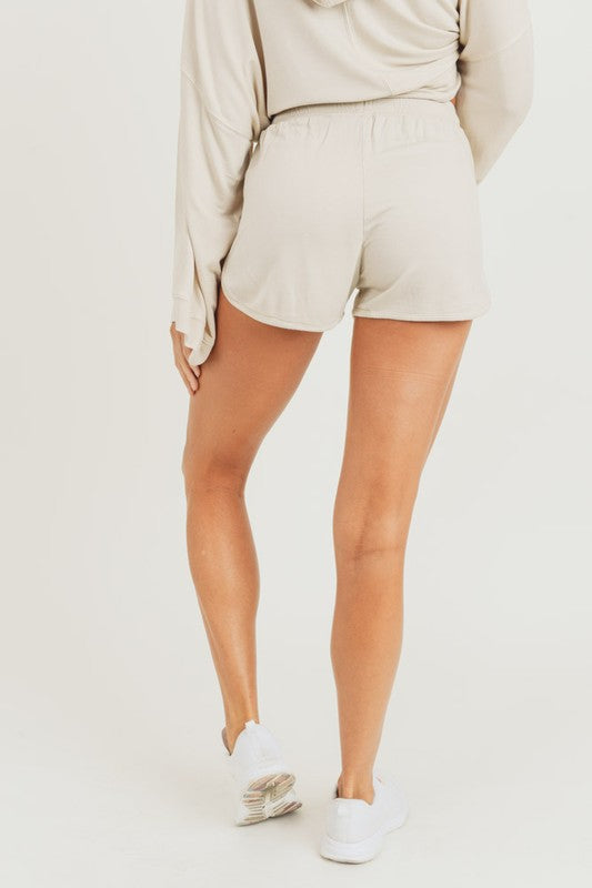 Maison Mineral Washed Shorts
