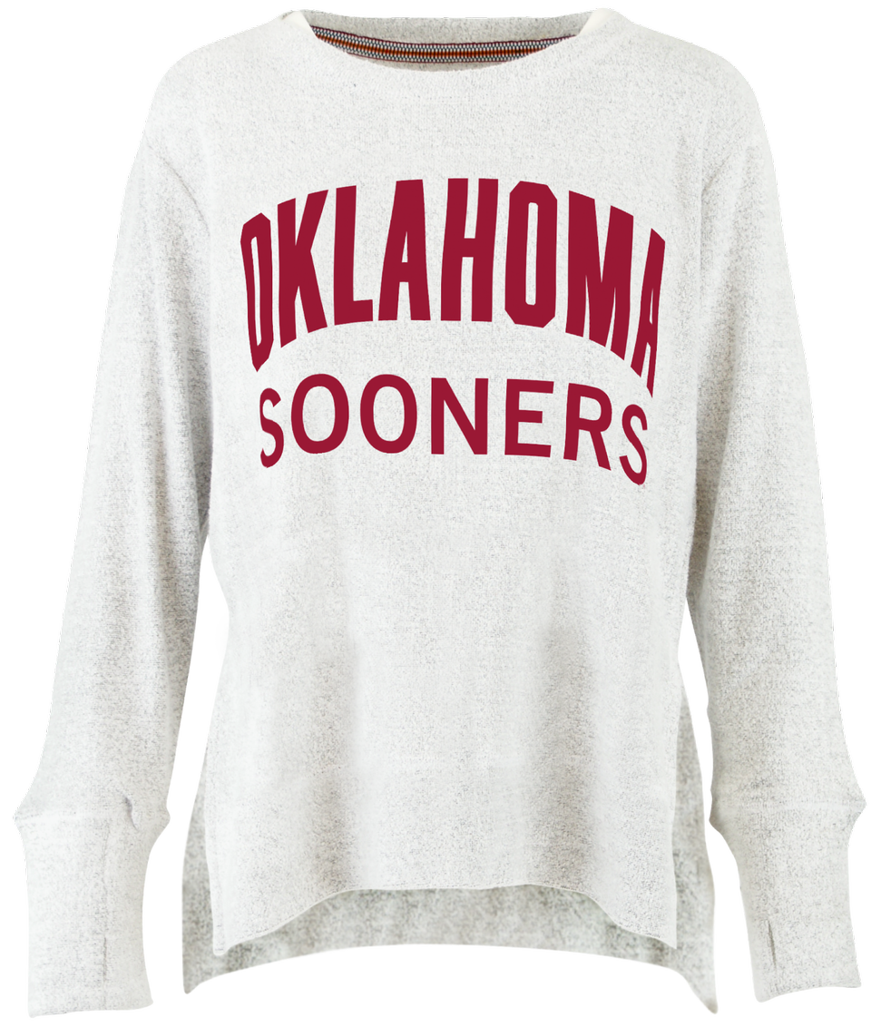 Oklahoma Sooners Fuzzy French Terry Pullover