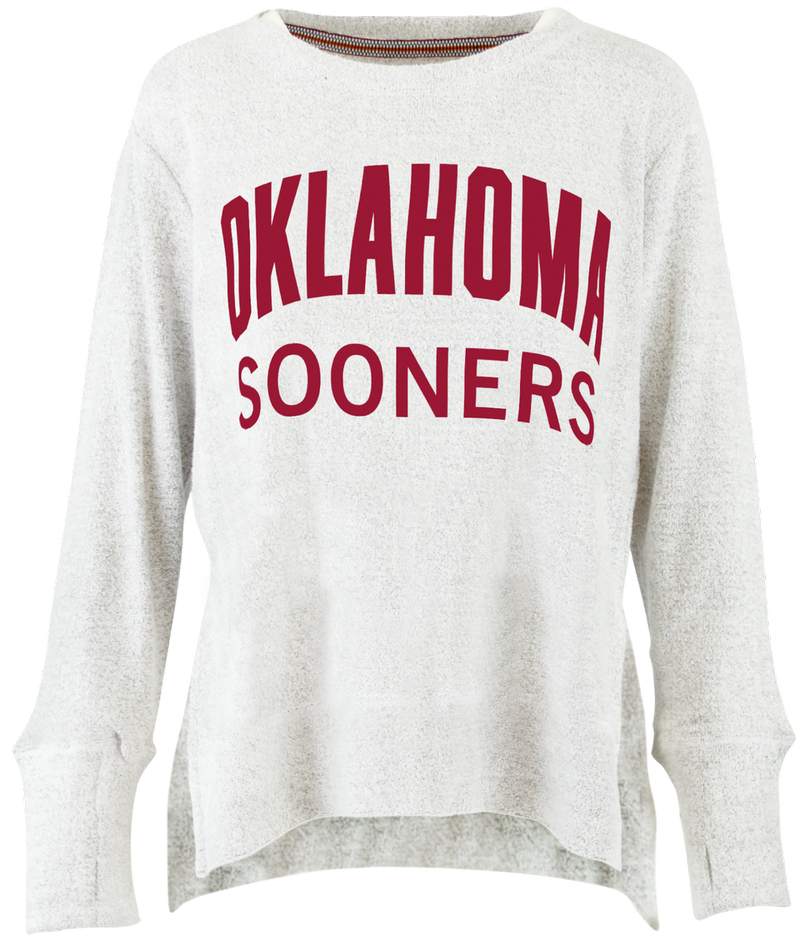 Oklahoma Sooners Fuzzy French Terry Pullover (786102190140)