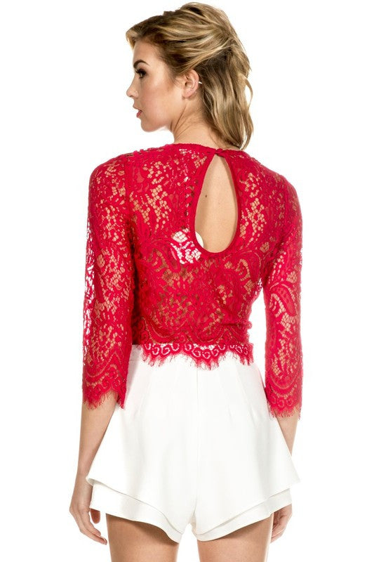 Cilla Lace Top