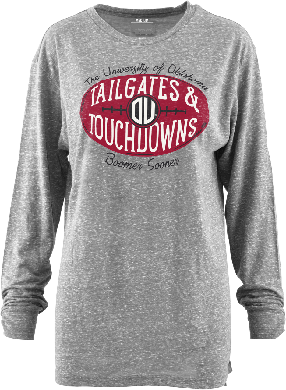 Tailgates and Touchdowns Long Sleeve Tee (808288518204)