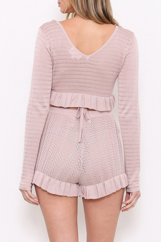 Rosie Knit Shorts (528420012092)