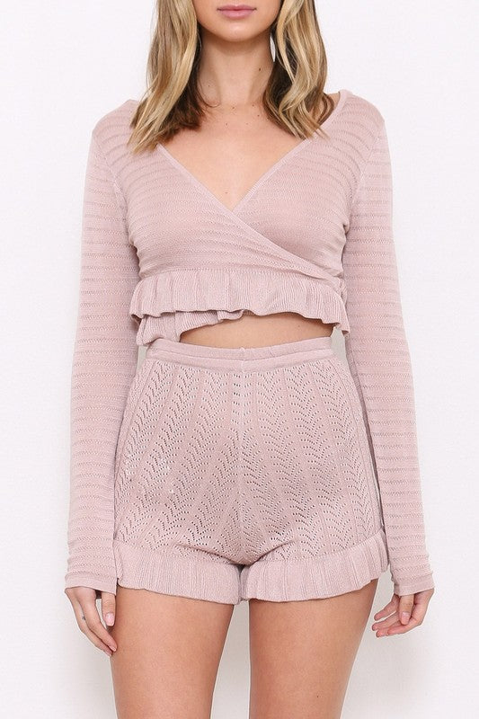 Rosie Knit Shorts