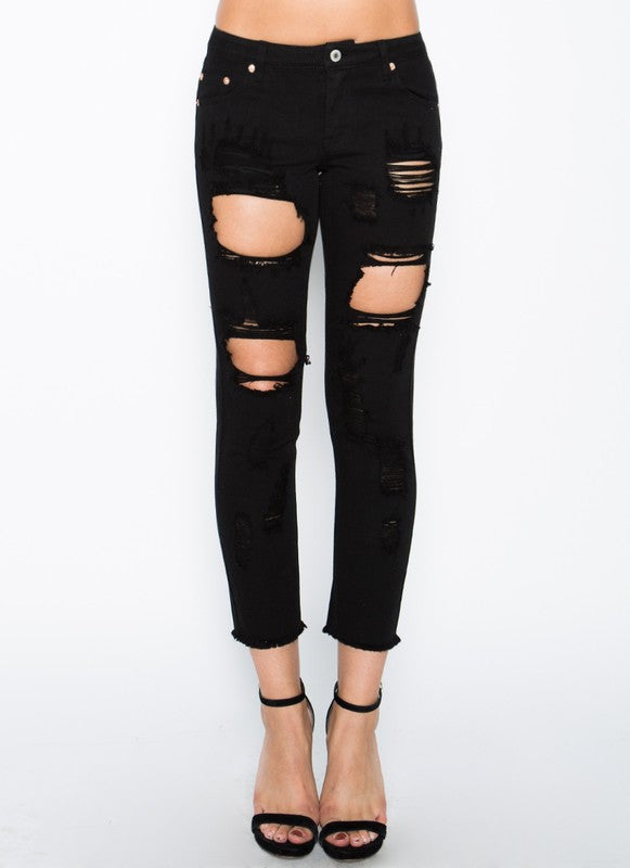 Nightfall Distress Jeans (9963389712)