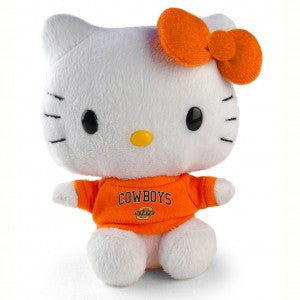 "Oklahoma State Hello Kitty 6"" Plush (7800733648)"