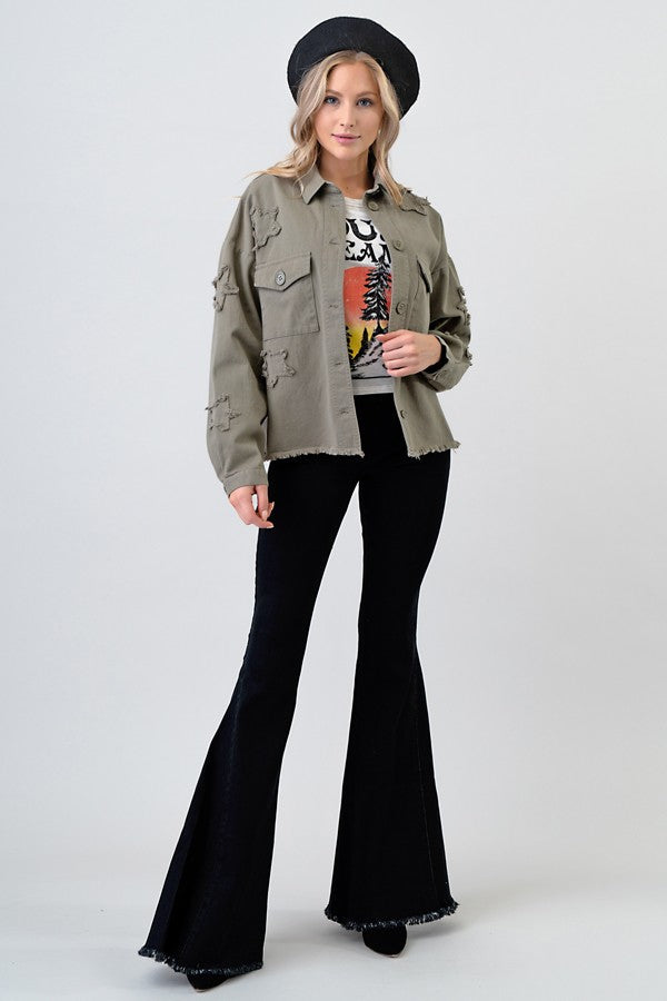 Ring The Bell Black Bell Bottoms (4374472229003)