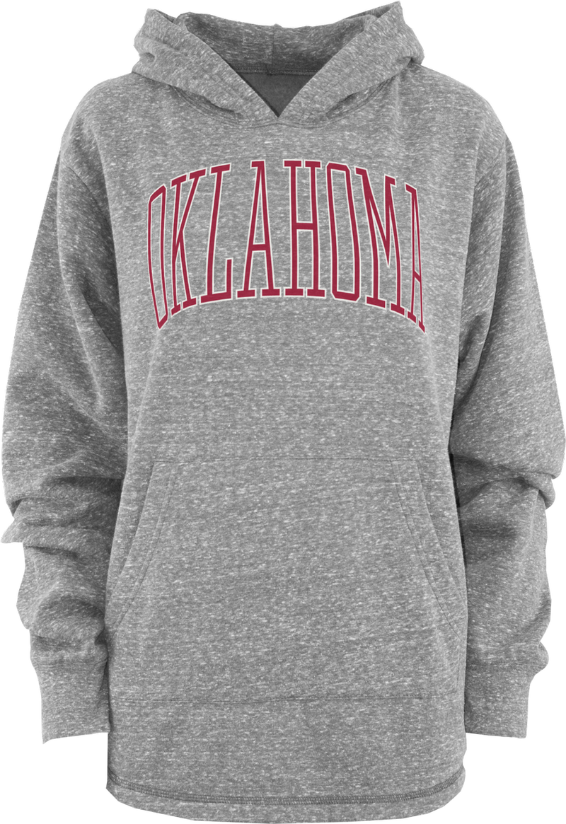 Oklahoma Long Sleeve Hooded Knobi Fleece