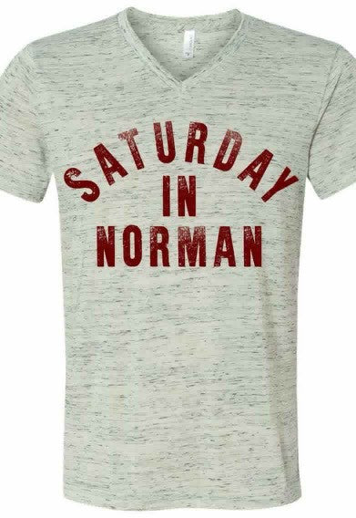 Saturday in Norman (V Neck)