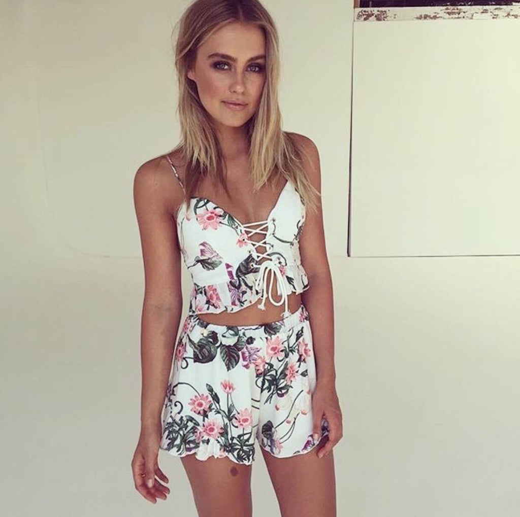May Flowers Two-Piece Set